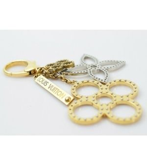 Louis Vuitton  Key Ring Bijoux Sac Tapage M65090